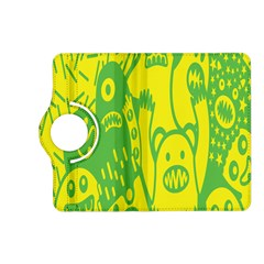 Easter Monster Sinister Happy Green Yellow Magic Rock Kindle Fire Hd (2013) Flip 360 Case by Mariart