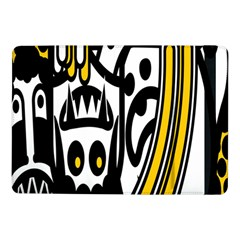 Easter Monster Sinister Happy Magic Rock Mask Face Polka Yellow Samsung Galaxy Tab Pro 10 1  Flip Case by Mariart
