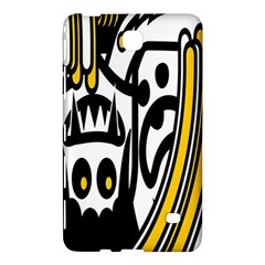 Easter Monster Sinister Happy Magic Rock Mask Face Polka Yellow Samsung Galaxy Tab 4 (8 ) Hardshell Case  by Mariart