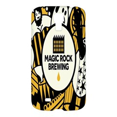 Easter Monster Sinister Happy Magic Rock Mask Face Yellow Magic Rock Samsung Galaxy S4 I9500/i9505 Hardshell Case by Mariart