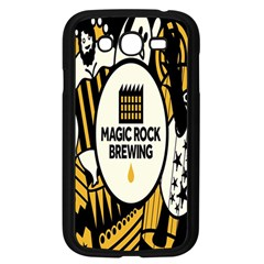 Easter Monster Sinister Happy Magic Rock Mask Face Yellow Magic Rock Samsung Galaxy Grand Duos I9082 Case (black)
