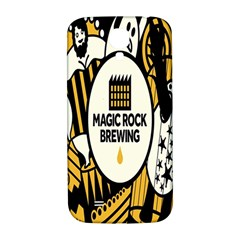 Easter Monster Sinister Happy Magic Rock Mask Face Yellow Magic Rock Samsung Galaxy S4 I9500/i9505  Hardshell Back Case by Mariart