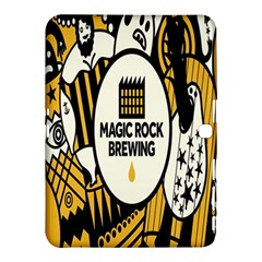 Easter Monster Sinister Happy Magic Rock Mask Face Yellow Magic Rock Samsung Galaxy Tab 4 (10 1 ) Hardshell Case  by Mariart