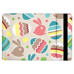 Easter Rabbit Bunny Rainbow Ipad Air Flip by Mariart