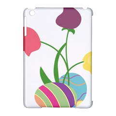 Eggs Three Tulips Flower Floral Rainbow Apple Ipad Mini Hardshell Case (compatible With Smart Cover) by Mariart