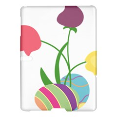 Eggs Three Tulips Flower Floral Rainbow Samsung Galaxy Tab S (10 5 ) Hardshell Case  by Mariart