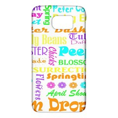 Easter Subway Blossoms Color Rainbow Chocolate Galaxy S6 by Mariart