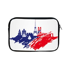 Eiffel Tower Monument Statue Of Liberty France England Red Blue Apple Ipad Mini Zipper Cases by Mariart