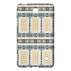 Fabric Star Flower Floral Samsung Galaxy Tab 4 (8 ) Hardshell Case  by Mariart