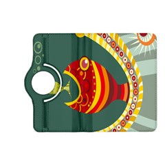 Fish Predator Sea Water Beach Monster Kindle Fire Hd (2013) Flip 360 Case by Mariart
