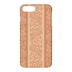 Flower Floral Leaf Frame Star Brown Apple Iphone 7 Plus Hardshell Case by Mariart