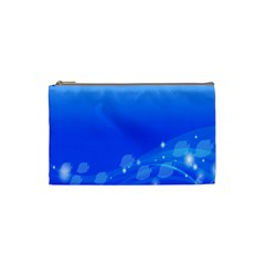 Fish Swim Blue Water Swea Beach Star Wave Chevron Cosmetic Bag (small)  by Mariart