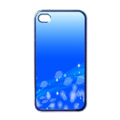 Fish Swim Blue Water Swea Beach Star Wave Chevron Apple Iphone 4 Case (black) by Mariart