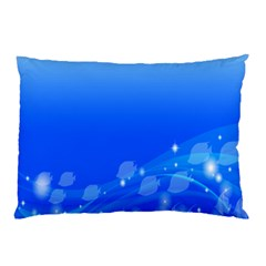Fish Swim Blue Water Swea Beach Star Wave Chevron Pillow Case (two Sides) by Mariart