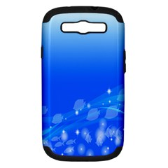 Fish Swim Blue Water Swea Beach Star Wave Chevron Samsung Galaxy S Iii Hardshell Case (pc+silicone) by Mariart