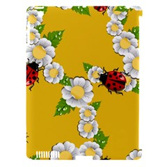 Flower Floral Sunflower Butterfly Red Yellow White Green Leaf Apple Ipad 3/4 Hardshell Case (compatible With Smart Cover) by Mariart