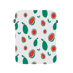 Fruit Green Red Guavas Leaf Apple Ipad 2/3/4 Protective Soft Cases by Mariart