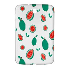 Fruit Green Red Guavas Leaf Samsung Galaxy Note 8 0 N5100 Hardshell Case  by Mariart