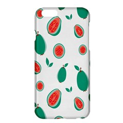 Fruit Green Red Guavas Leaf Apple Iphone 6 Plus/6s Plus Hardshell Case by Mariart