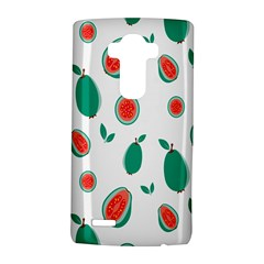 Fruit Green Red Guavas Leaf Lg G4 Hardshell Case by Mariart