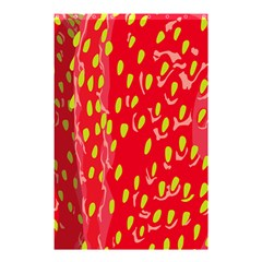 Fruit Seed Strawberries Red Yellow Frees Shower Curtain 48  X 72  (small)  by Mariart