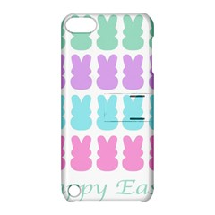 Happy Easter Rabbit Color Green Purple Blue Pink Apple Ipod Touch 5 Hardshell Case With Stand by Mariart