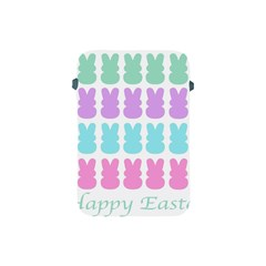 Happy Easter Rabbit Color Green Purple Blue Pink Apple Ipad Mini Protective Soft Cases by Mariart