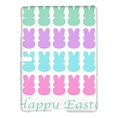 Happy Easter Rabbit Color Green Purple Blue Pink Samsung Galaxy Tab S (10 5 ) Hardshell Case  by Mariart