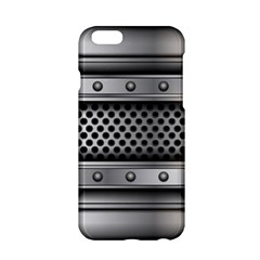 Iron Content Hole Mix Polka Dot Circle Silver Apple Iphone 6/6s Hardshell Case by Mariart