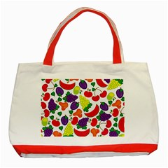 Fruite Watermelon Classic Tote Bag (red)