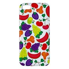 Fruite Watermelon Apple Iphone 5 Premium Hardshell Case
