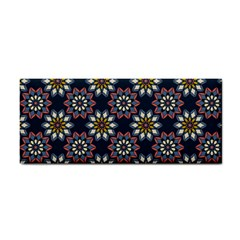 Floral Flower Star Blue Cosmetic Storage Cases by Mariart
