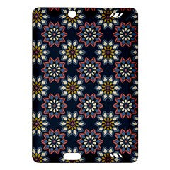 Floral Flower Star Blue Amazon Kindle Fire Hd (2013) Hardshell Case by Mariart