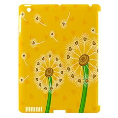 Leaf Flower Floral Sakura Love Heart Yellow Orange White Green Apple Ipad 3/4 Hardshell Case (compatible With Smart Cover) by Mariart