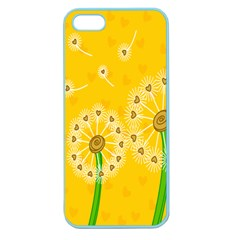Leaf Flower Floral Sakura Love Heart Yellow Orange White Green Apple Seamless Iphone 5 Case (color) by Mariart