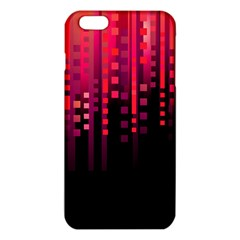 Line Vertical Plaid Light Black Red Purple Pink Sexy Iphone 6 Plus/6s Plus Tpu Case by Mariart
