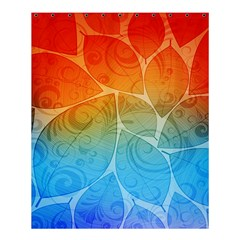 Leaf Color Sam Rainbow Shower Curtain 60  X 72  (medium)  by Mariart