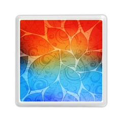 Leaf Color Sam Rainbow Memory Card Reader (square)  by Mariart
