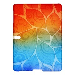 Leaf Color Sam Rainbow Samsung Galaxy Tab S (10 5 ) Hardshell Case  by Mariart