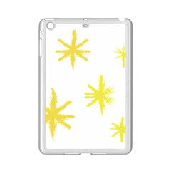 Line Painting Yellow Star Ipad Mini 2 Enamel Coated Cases by Mariart