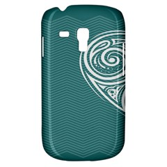 Line Wave Chevron Star Blue Love Heart Sea Beach Galaxy S3 Mini by Mariart