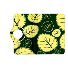 Leaf Green Yellow Kindle Fire Hd (2013) Flip 360 Case by Mariart