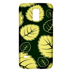 Leaf Green Yellow Galaxy S5 Mini by Mariart
