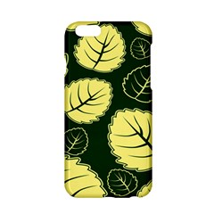 Leaf Green Yellow Apple Iphone 6/6s Hardshell Case by Mariart