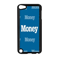 Money White Blue Color Apple Ipod Touch 5 Case (black) by Mariart