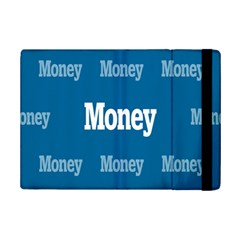 Money White Blue Color Ipad Mini 2 Flip Cases by Mariart