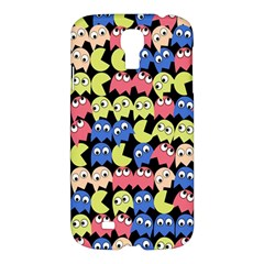 Pacman Seamless Generated Monster Eat Hungry Eye Mask Face Color Rainbow Samsung Galaxy S4 I9500/i9505 Hardshell Case by Mariart