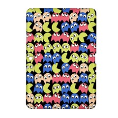 Pacman Seamless Generated Monster Eat Hungry Eye Mask Face Color Rainbow Samsung Galaxy Tab 2 (10 1 ) P5100 Hardshell Case  by Mariart