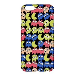 Pacman Seamless Generated Monster Eat Hungry Eye Mask Face Color Rainbow Apple Iphone 6 Plus/6s Plus Hardshell Case by Mariart