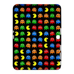 Pacman Seamless Generated Monster Eat Hungry Eye Mask Face Rainbow Color Samsung Galaxy Tab 4 (10 1 ) Hardshell Case  by Mariart